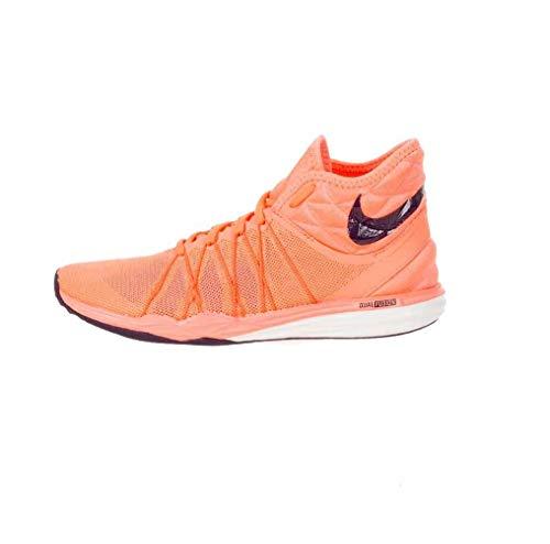 Nike 852442-800, Scarpe da Fitness Donna, Arancione Acceso/Viola (Naranja Bright Mango Purple Dynasty), Numeric_37_Point_5 EU