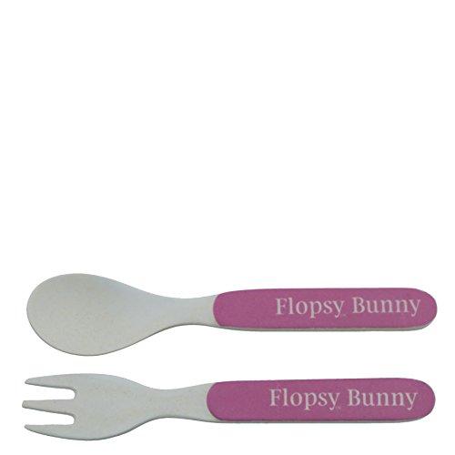 Beatrix Potter A28801 Flopsy Bio Ensemble Fourchette et cuillère