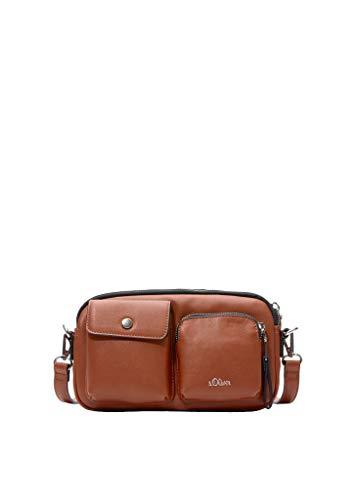 s.Oliver (Bags Damen Umhängetasche, 8763 Cognac, 1