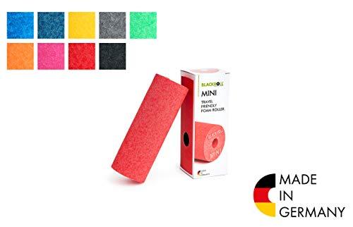 BLACKROLL® MINI Faszienrolle  - das Original. Die kleine Selbstmassage-Rolle für die Faszien in rot