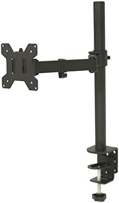 NavePoint Single LCD Monitor LCD Mount Adjustable Arms Desk Stand Mount Grommet up to 27 Inches