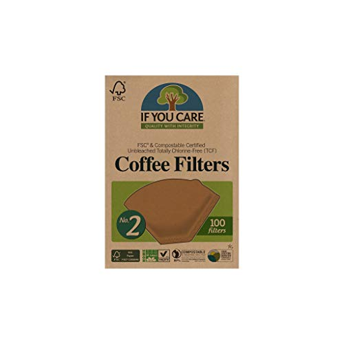 IF YOU CARE Coffee Filters, No. 2, 100-Count Boxes (Pack of 12)