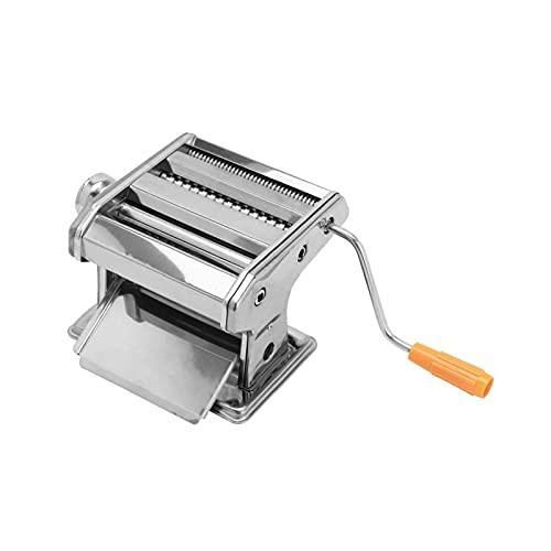 AllRightNudelmaschineManuell Testsieger EdelstahlPastamaschine Pastamaker für Spaghetti PastaLasagne