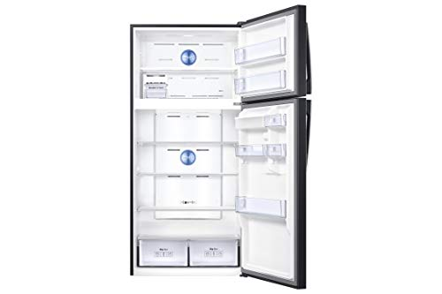 Samsung Elettrodomestici RT62K7115BS/ES Frigorifero Doppia Porta RT7000, 555 l, Black Inox