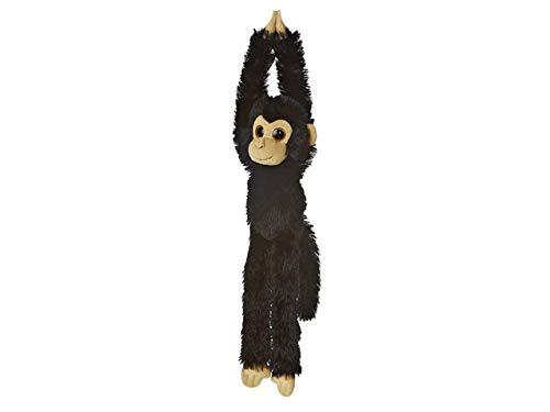 Aurora World 60291 - Hängender Schimpanse, Plüschtier, 19 Zoll, schwarz