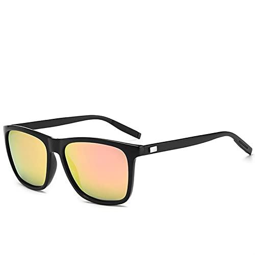 Aluminio retro unisex + TR90 Mujeres Gafas de sol Hombres Lente polarizada Accesorios para gafas Vintage Gafas de sol Gafas de sol polarizadas Hombres frescos para mujer deportes ( Lenses Color : C7 )