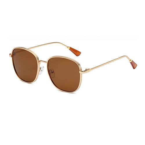 SXRAI Gafas De Sol Cuadradas Mujer Gafas De Sol para Mujer Gafas De Sol Mujer Negro,C4