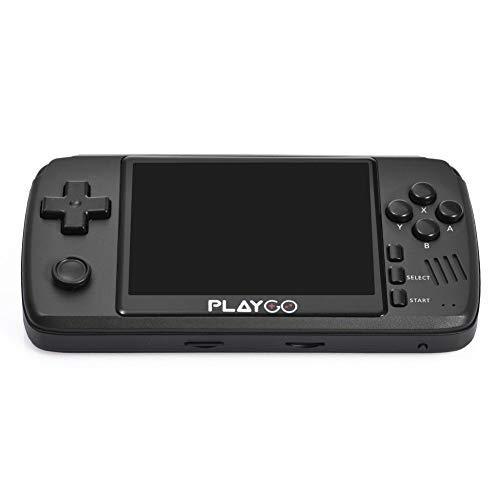 N/I Consola De Juegos Portátil, Consola De Juegos Recargable De 3.5 Pulgadas...