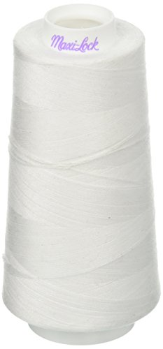 American & Efird Maxi Lock All Purpose Value Pack, White