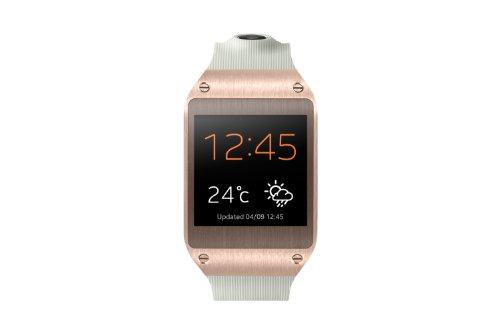 Samsung Galaxy Gear V700 Smartwatch (4,14 cm (1,63 Zoll) SAMOLED-Display, 800 MHz, 512MB RAM, Android 4.3) rose-gold