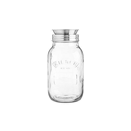 Kilner - Gemüsespaghettischneider, Spiralschneider - 1 Liter - im coolen Vintage Einmachglas