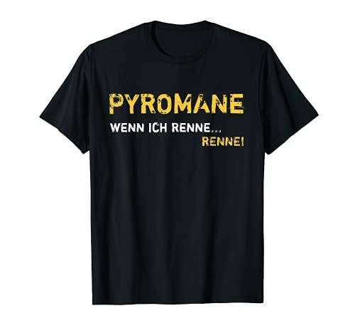 Pyromane Böller Knaller Raketen Kracher Feuerwerk Liebhaber T-Shirt
