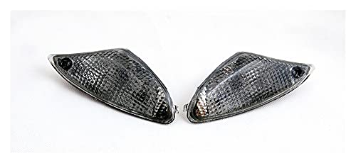 JIAOJIAO HAN-Store Ajuste para BMW K1200S K1300S Motorcycle Front Turn Signals Light Blinker Cover (Color : Smoke)