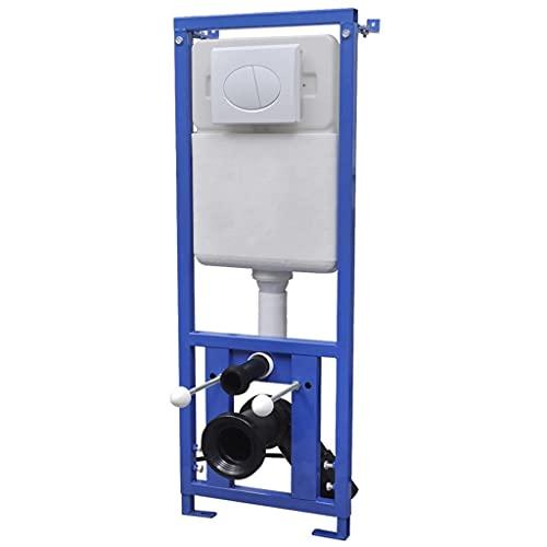 HUANGDANSP Sciacquone a Scomparsa 11 L 41x14x(110-125) cm Articoli di ferramenta Prodotti Idraulici Ferramenta per la Riparazione di impianti Idraulici Accessori WC e Bidet Vaschette per WC