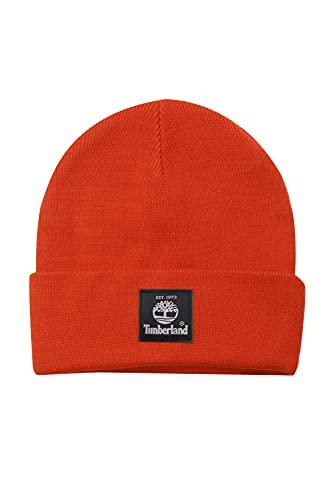 Timberland Short Watch Cap, Orange, One Size