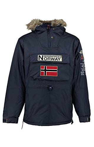 Geographical Norway Parka BOOMERANG hombre AZUL MARINO...
