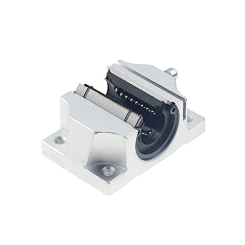 TANGJIANCHENG -B TBR16UU TBR20UU TBR25UU TBR30UU Bloque de soporte de rodamientos de bolas lineales de 16 mm para piezas de impresora 3D carril lineal (longitud de la guía: 1 unidad TBR20UU)