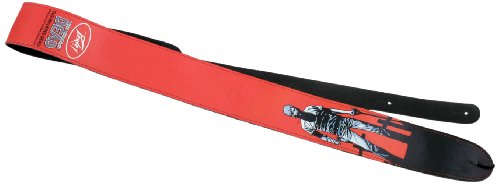 Peavey The Walking Dead Rick Grave Digger Leather Guitar Strap