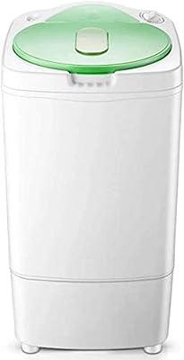 ZGYQGOO Mini household single barrel dehydrator, dryer dryer rotary dryer dehydration amount 7KG bedroom living room bathroom camping, etc.