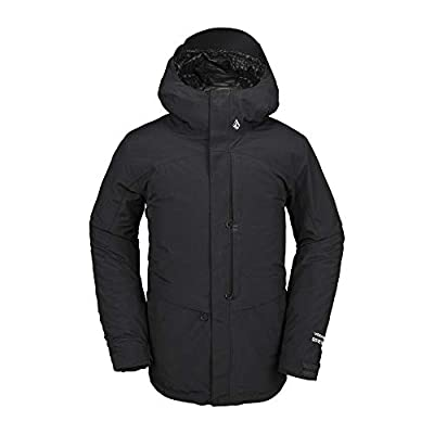 Volcom Men's Tds 2l Gore Tex Snow Jacket, Black, Extra Large from Volcom