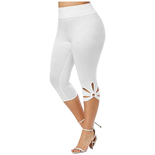 Pantalones Yoga Mujer Pantalones Deportivos de Fitness Pantalón Deportivo Cintura Alta Leggings Huecos Mallas para Running Training Fitness Estiramiento Yoga y Pilates