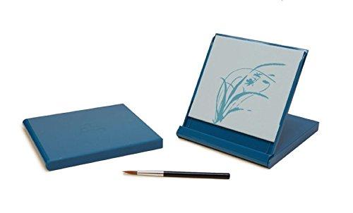 Mini Buddha Board, 5-inch x 5-inch, Aqua