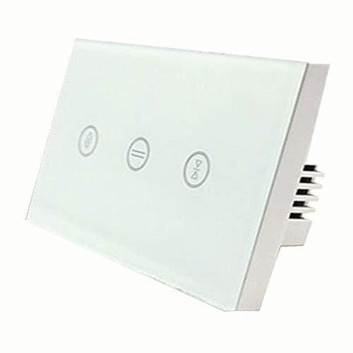 TOOGOO UE WiFi Interruptor De Cortina De Toque Inteligente...