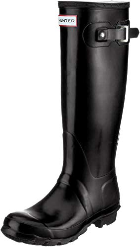 ACM Boots GmbH Hunter Original Tall Gloss W23616, Damen Gummistiefel, Schwarz (black), EU 40/41 (UK 7)