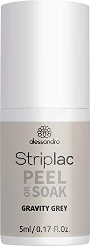 alessandro Striplac Peel or Soak - LED-Nagellack Space Girl Kollektion/Gravity Grey, 5 ml