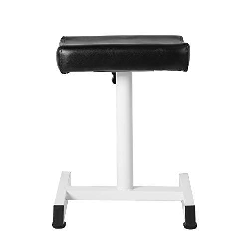 EBTOOLS Fußstütze für Pediküre, Höhenverstellbares Pediküre Hocker Beinauflage Pediküre-Werkzeug für Maniküre oder Tätowierung(Schwarz)