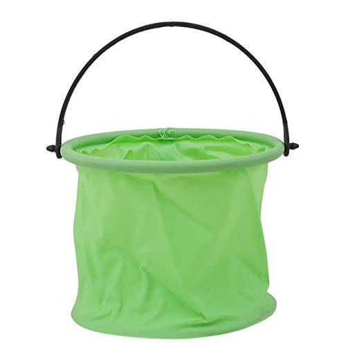 Cubo plegable portátil multifuncional de la pintura del arte de la lona del cubo de lavado del viaje que acampa la herramienta portátil del viaje