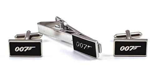 Gemelolandia James Bond 007 Krawattennadel und Manschettenknöpfe
