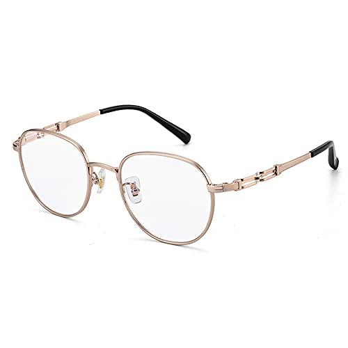 CXNEYE Gafas De Lectura Bifocales Clásicas con Bloqueo De Luz Azul, Gafas Unisex, Gafas De Corrección De La Visión Multifocales Progresivas Antifatiga