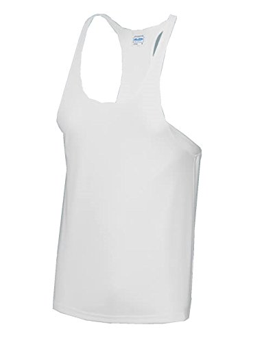 Just Cool Muscle Gilet - Blanc - Large