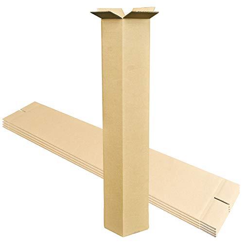 dk-gpl ダンボールキング ポスター ゴルフ 梱包用 ダンボールL5枚(150×150×1300mm 荷姿二つ折り) (Lサイズ5枚)