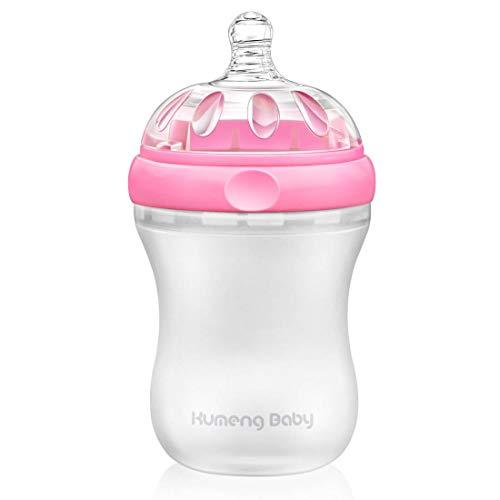 Bright love sans BPA bébé spécial col Large Petite Bouteille 230ml,Pink
