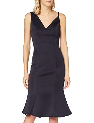 Chi Chi London Damen Chi Cecilie Dress Kleid, blau, 40