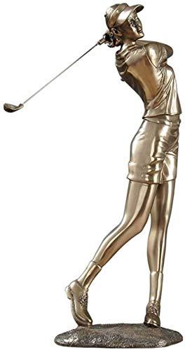 Décoration De Statue De Figure Moderne, Modèle D'Artisanat De Golfeur, Décoration D'Armoire À...