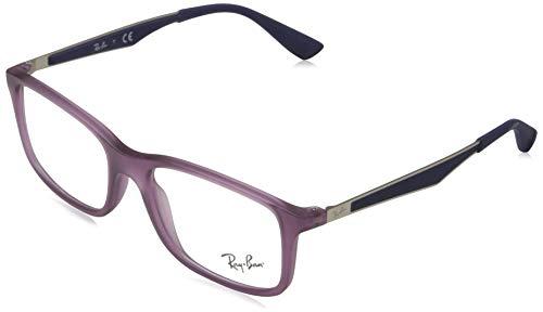 Ray-Ban JUNIOR 0RY1570 Monturas de gafas, Matte Violet, 47 Unisex