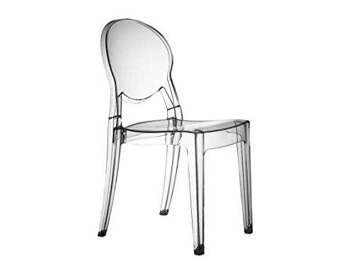 Scab Igloo Chair - Silla de plástico (policarbonato), transparente