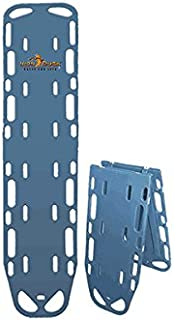 Iron Duck 35940-P-Blue Ultra Space Save Folding Spinal Immobilization Backboard with Speed Clip Pins