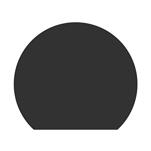 Lot De 4 Napperons en Silicone Ronds Nordiques, Napperons Occidentaux pour Les Tapis De Table à Manger Napperon Décor D'isolation Thermique Antidérapant(Color:g)