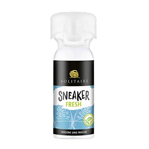 Solitaire SNEAKER FRESH 100 ml - Schuh-Deo mit Überkopf-Sprühsystem gegen Fußgeruch mit Lanzeit-Schutzformel