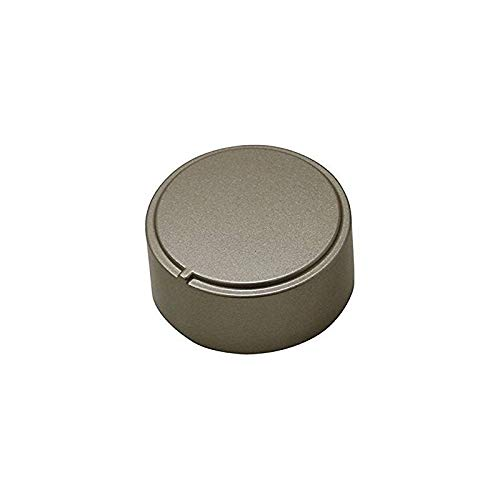 MANOPOLA FORNO SATINATA INOX ARISTON INDESIT 111686 DIAM.37 mm GAMBO + 3
