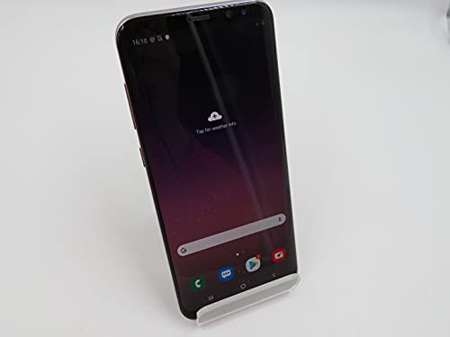 Samsung Galaxy S8+, 64GB, Orchid Gray - For GSM (Renewed)