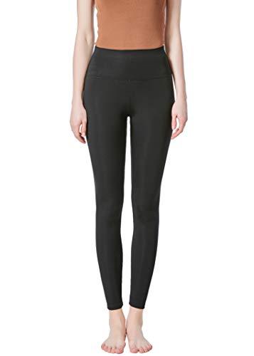 JOPHY & CO. Damen-Leggings, lang, bi-elastisch, aus Stoff (Artikelnummer: 9839), Schwarz S