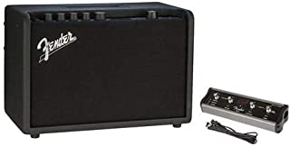 Fender Mustang GT 40 40W (2X 20W in Stereo) WiFi Digital Amplifier with 21 Amp Models, 46 Effects 4-Button Footswitch for Mustang Amplifier