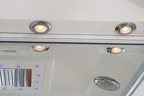 Home Deluxe White Luxory XL Duschtempel, inkl. Dampfsauna und komplettem Zubehör - 8