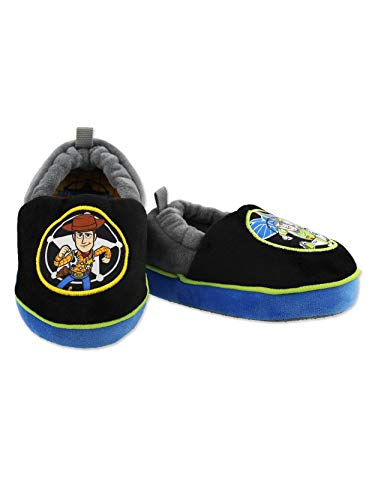 Toy Story Woody Buzz Boys Toddler A-Line Slippers (7-8 M US Toddler,...