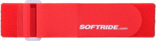 SOFTRIDE SOFTWRAPS 다목적 후크 앤 루프 타이 다운 신치 스트랩 빨강 24X2 인치 2 팩(26584)